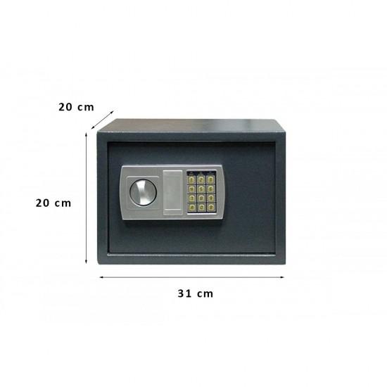 Χρηματοκιβώτιο Σπιτιού - Ξενοδοχείου Arte Ηλεκτρονικό με κλειδί  Kryptonite S20E 31x20x20 εκ.