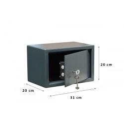 Χρηματοκιβώτιο Σπιτιού - Ξενοδοχείου Arte με κλειδί  S20K 31x20x20 εκ.