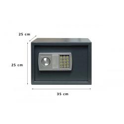 Χρηματοκιβώτιο Σπιτιού - Ξενοδοχείου Arte Ηλεκτρονικό με κλειδί  Kryptonite S25E 35x25x25 εκ.
