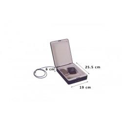 Φορητό Χρηματοκιβώτιο Συνδυασμού Με Συρματόσχοινο Arte TS0517 25.5x19x6 εκ.