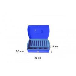 Φορητό Χρηματοκιβώτιο - Ταμείο Arte Μπλε TS0608 33x23x7.5 εκ.