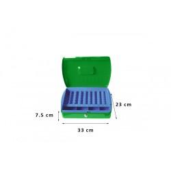 Φορητό Χρηματοκιβώτιο - Ταμείο Arte Πράσινο TS0608 33x23x7.5 εκ.