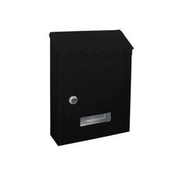 Γραμματοκιβώτιο Arte TX0080 Μάυρο 29Χ21Χ6 εκ.