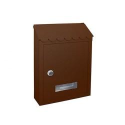 Γραμματοκιβώτιο Arte TX0080 Καφέ 29Χ21Χ6 εκ.