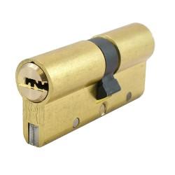 Κύλινδρος Υψηλής Ασφαλείας Domus Alfa 24065 65άρης (30-35) brass