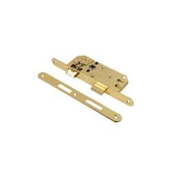 Κλειδαριά Μεσόπορτας Domus Econ Line 83940 με Κέντρα 40-90 Οβάλ με Πρόσωπο και Αντίκρισμα Χρυσό