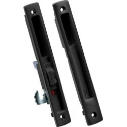 Domus Kliklok Lock for sliding aluminum doors 7610M Black