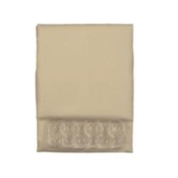 Κουρτίνα Μπάνιου Υφασμάτινη  Μπέζ (Αδιάβροχη-Πλένεται-Σιδερώνεται) 180 (Φ) x200 (Υ)