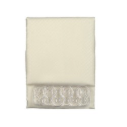 Κουρτίνα Μπάνιου Υφασμάτινη  Μπέζ  2502  (Αδιάβροχη-Πλένεται-Σιδερώνεται) 240 (Φ) x200 (Υ)
