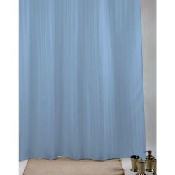 Κουρτίνα Μπάνιου Υφασμάτινη Import Hellas Rigone Μπλε 180 (Φ)x200 (Υ)