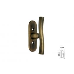 Πόμολο Παραθύρων Viometale 08.460 Γρυλόχερο Μπρονζέ