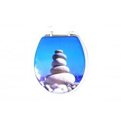 Καπάκι/Κάλυμμα Λεκάνης ΟΕΜ Μαλακό E1138-1 Πέτρες