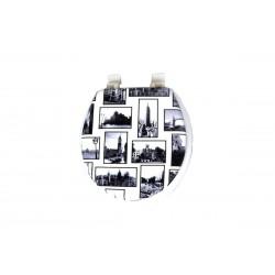 Καπάκι/Κάλυμμα Λεκάνης ΟΕΜ Μαλακό E1138-2 Κτήρια