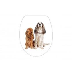 Καπάκι/Κάλυμμα  Λεκάνης Import Hellas 34 Σκύλοι