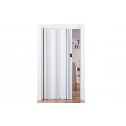 Πόρτα Πτυσσόμενη FlexDoor Βαρέως Τύπου 86εκΧ220εκ Απομίμηση Ξύλου Λευκή