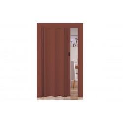 Πόρτα Πτυσσόμενη FlexDoor Βαρέως Τύπου 86εκΧ220εκ Απομίμηση Ξύλου Μελί