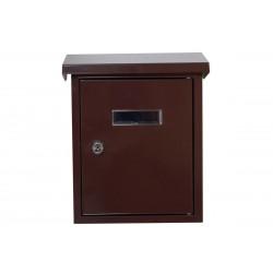 Γραμματοκιβώτιο Import Hellas  Καφέ TX-082 25,5Χ19,2Χ6 Εκ.