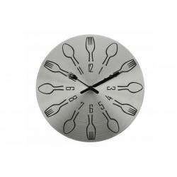 Ρολόι Τοίχου Μεταλλικό Import Hellas No4 Πιρούνια