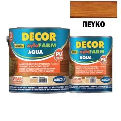 Προστατευτικό Βερνίκι Εμποτισμού για Ξύλα Mercola Βάσεως Νερού Decor Xylofarm Aqua Πεύκο Ματ 750ml