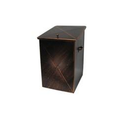 Ξυλοθήκη Μεταλλική Μικρή Με Καπάκι No 101 32Μx50Υx40Β εκ