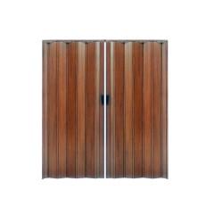 Πόρτα Πτυσσόμενη Zitaflex Δίφυλλη Απομίμηση Ξύλου Βαρέως Τύπου Ύψος έως 2,23μ. Διαφόρων Διαστάσεων