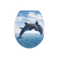Καπάκι/Κάλυμμα Λεκάνης Duroplast E1977 No4 Δελφίνια