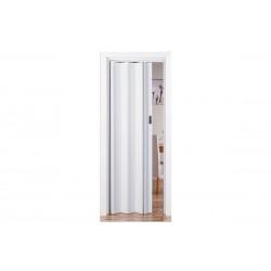 Πόρτα Πτυσσόμενη Frans Βαρέως Τύπου 73εκΧ220εκ Απομίμηση Ξύλου Λευκή