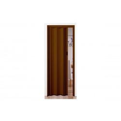Πόρτα Πτυσσόμενη Frans Βαρέως Τύπου 73εκΧ220εκ Απομίμηση Ξύλου Μελί Σκούρο