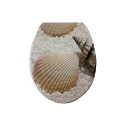 Καπάκι/Κάλυμμα Λεκάνης Duroplast E1977 No2 Κοχύλια
