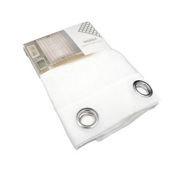 Κουρτίνα Παραθύρου Γάζα Sidi Home E-3704 Λευκό 140x160 εκ. με Τρουξ
