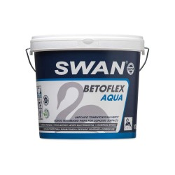 Ακρυλικό Τσιμεντόχρωμα Νερού Swan Betoflex Aqua Εξωτερικής Χρήσης Γκρι 750ml