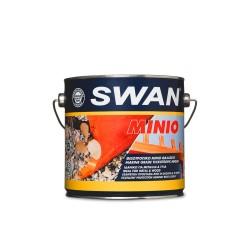 Αντιοξειδωτικό Αστάρι Μετάλλων και Ξύλων Swan Μίνιο Πορτοκαλί 2.5Lt