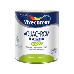 Οικολογική Βελατούρα Νερού Vivechrom Aquachrom Primer Eco Λευκό 750ml