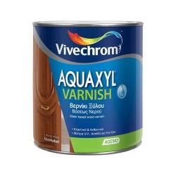 Βερνίκι Εμποτισμού Ξύλου Βάσεως Νερού Vivechrom Aquaxyl Varnish Άχρωμο Σατινέ 2.5Lt