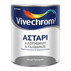 Αστάρι Αλουμινίου και Γαλβανιζέ Vivechrom 2.5Lt