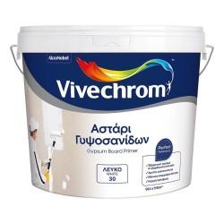Οικολογικό Ακρυλικό Υδατοδιαλυτό Αστάρι Γυψοσανίδων Vivechrom 3Lt