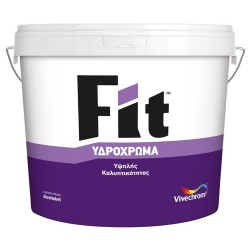 Υδρόχρωμα Vivechrom Fit Λευκό 3Lt