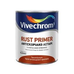 Αντισκωριακό Αστάρι Μετάλλων Vivechrom Rust Primer Γκρι 375ml