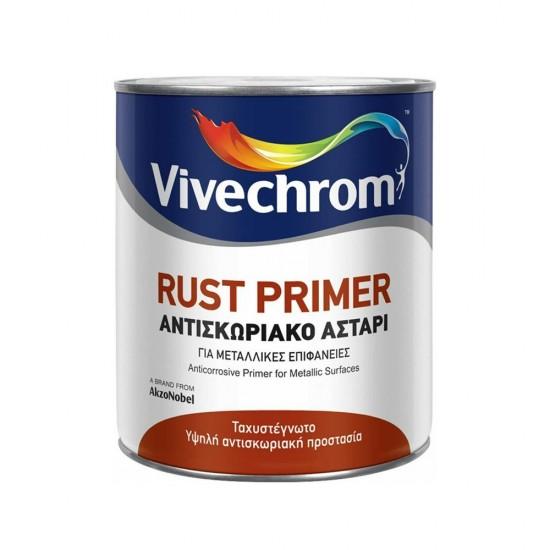 Αντισκωριακό Αστάρι Μετάλλων Vivechrom Rust Primer Καφέ 375ml