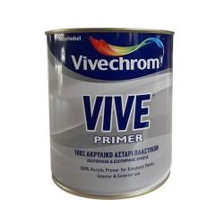 Ακρυλικό Αστάρι Πλαστικών Χρωμάτων Vivechrom Vive Primer 750ml