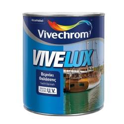 Βερνίκι Θαλάσσης με Προστασία UV Βάσεως Διαλύτου Vivechrom Vivelux Άχρωμο Γυαλιστερό 750ml