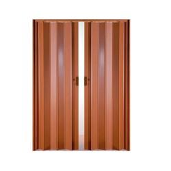Πόρτα Πτυσσόμενη Zitaflex Δίφυλλη  Βαρέως Τύπου Ύψος έως 2,23μ. Διαφόρων Διαστάσεων Απλή Απόχρωση
