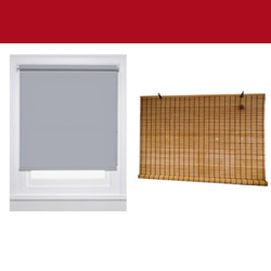 STOCK ROLLER BLINDS - SHADES
