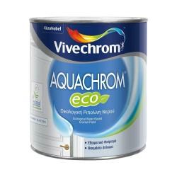 Οικολογική Ριπολίνη Νερού Vivechrom Aquachrom Eco Λευκό Γυαλιστερό 2.5Lt