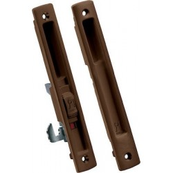 Domus Kliklok Lock For Sliding Aluminum Doors Brown 7610Χ